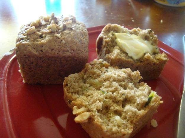 Zuchini Walnut Muffins Recipe